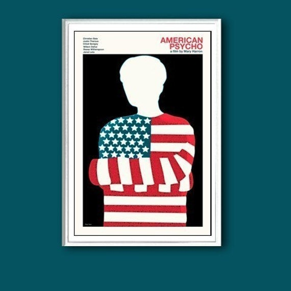 American Psycho 12x18 inches movie poster