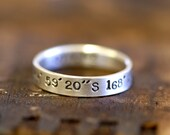 Personalized name ring (E0237)