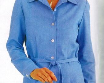 2000s Butterick 3168 Sewing Pattern Misses Petite Dress, Shirtwaist Dress, Casual Dress Size 12 - 14 - 16