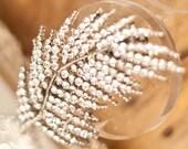 Bridal Hair Crystal Leaf Wedding Accessories