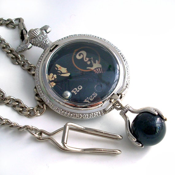 Oracle - Pocket Watch Style Pendant - Dexterity Game in Pocket Watch case - Jewelry