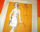 1960s Vintage Sewing Pattern - Mod Dress - Prominent Designer M362 - Uncut FF