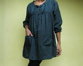 30 USD Sale...Dress with 2 pockets (192) in 3 sizes