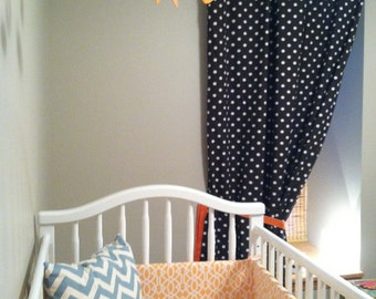One Fitted Crib Sheet, You Choose Fabric