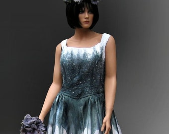 Corpse Bride Gothic Gown Halloween Sale
