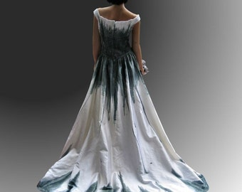 Corpse Bride Gothic Gown SALE