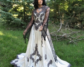 Zombie Queen Gothic Gown