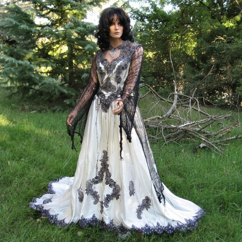 Zombie Queen Gothic Gown By TheBohemianGoddess On Etsy