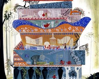 Dream House - Print