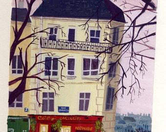 Montmartre - Print