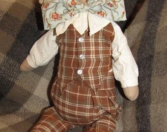 Albert Hare Vintage-Style Art Doll