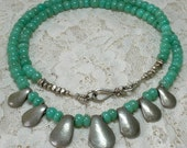 Chrysoprase Necklace - Grace and Compassion