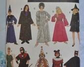 Simplicity 9175 - Mix-and-Match Kids' Halloween Costumes - Wizard, Witch, Princess, Fairy, Clown, Bat, Etc.  FUN - SALE