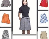 VOGUE SKIRT Sewing Pattern -  Easy Misses Skirts 3 Sizes