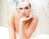 Wedding Veil -- Classy Bubble Veil