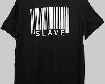 "Barcode ""SLAVE"" T-Shirt"