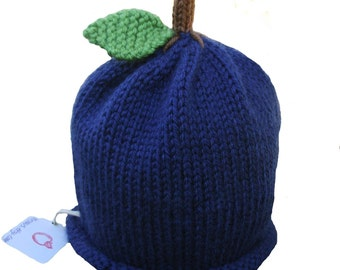 Blueberry Hat - Baby to Adult