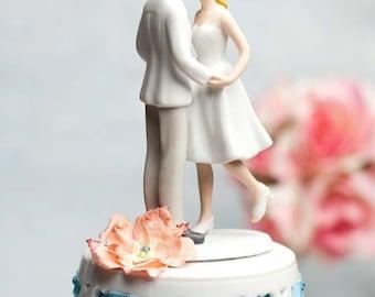 Adorable Leg Pop Ribbon Accent Cake Topper - 104954