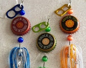 "Mens Gift for Him-Best Man- Groomsman Gift for Men ""Shock Top"" 3pk Fishing Lures"
