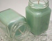 Peppermint Eucalyptus Candle - Essential Oil Aromatherapy