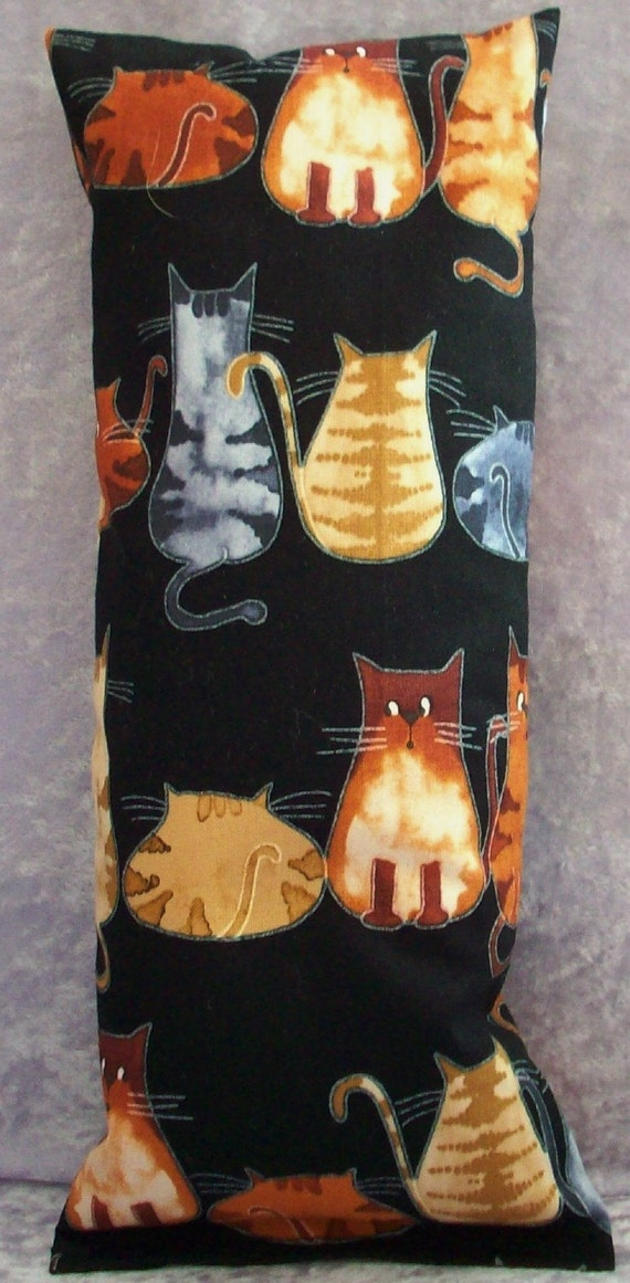 """Catnip Pillow Toy Wrestler - Terra Cotta Cats Kick Stick - Gifts for Cats - Approx size - 11"""" x 4 3/4"""" - Home and Living Pets"""
