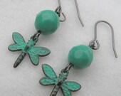Gossamer Wings - Dragonfly Earrings