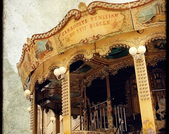 Le Manege 08 - Fine Art Print - French Carousel photograph - For Kids Room - Etsy Wall Art - TFTeam