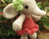 Flora the Elephant Amigurumi Pattern PDF