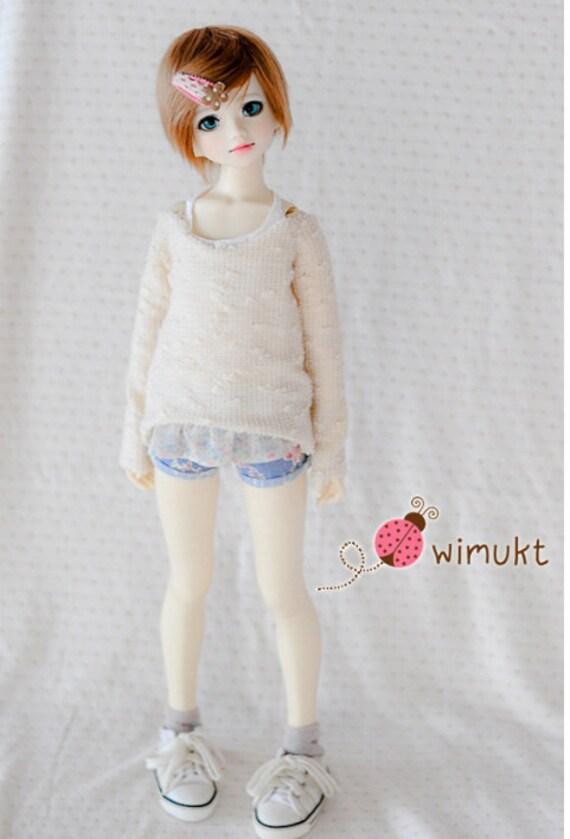 U-noa Double short Denim Boyish rose set