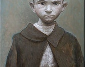 IPALBUS, Art Print - Portrait of a Poor Boy, After an Original Painting