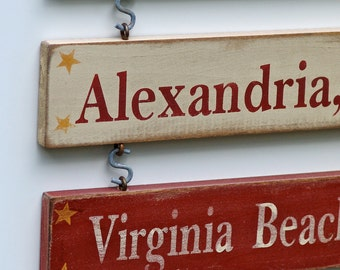 Additional Duty Station for Home sign - Hand Painted CUSTOM
