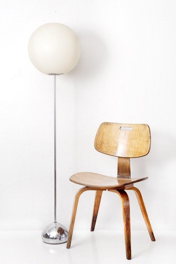 RESERVED for SCOTT /// Mid Century Chrome Floor Lamp
