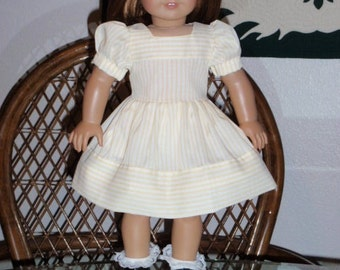 1940s Dirndl Dress for American Girl Molly or Emily or other 18 inch doll