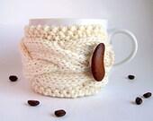 Coffee Cup Cozy - Tea Cozy - Coffee Sleeve - Coffee Mug Cozy - Knit Coffee Cozy - Gifts Under 20 - Knit Coffee Sleeve - Cup Warmer