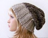 Slouchy Beanie Hat, Slouchy Hat, Winter Hat, Womens Hats, Mens Slouchy Beanie, Knit Hat, Knit Beanie, Knitted Hats for Women, Slouch Beanie