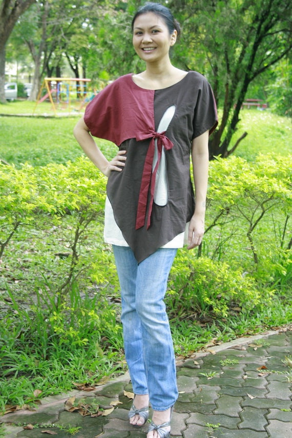 SALE 28 USD--M199--- Life is colourful (Blouse)