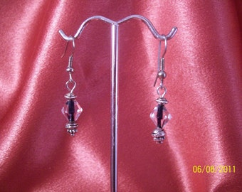 Pretty Petite Crystal Lantern Earrings