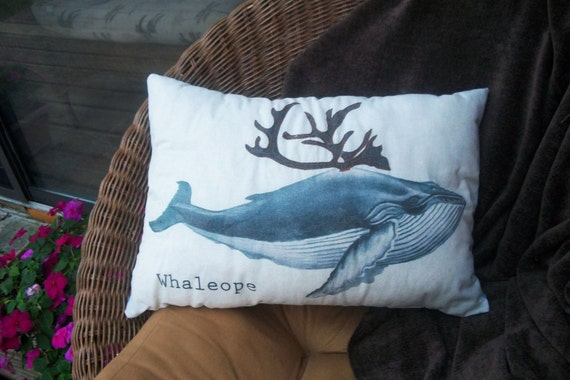 Whaleope Pillow