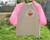 Child's long sleeved art smock, age 3 to 4, Winnie the Pooh Bear