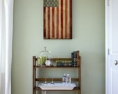 United States Flag Graphic Art Illustration Stretched Canvas Ready To Hang