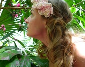 Felt Flower Headband, Flower Crown with Felt Roses, Felt Flowers, Felt Roses, ava Felt Flower Headband, avaFelt Flower Headband