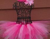 Pink Birthday tutu- Fairy Princess Tutu---PINKALICIOUS Tutu--- Pinkalicious Costume, Girls Pink Fairy Costume