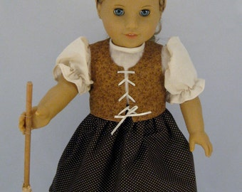 Poor Cinderella Dress    for American Girl and other 18 inch Dolls