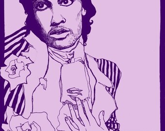 I'm Not Your Lover - Homage to Prince and Purple Rain - poster