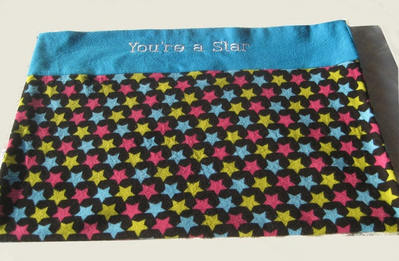 You R a Star Pillowcase    May be Customized