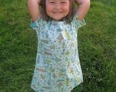 Children's Hospital Gown custom made sizes infant to 14  Girl Boy Toddler