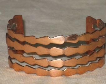 Vintage Renoir Copper Cuff Bracelet (BR-1-6)