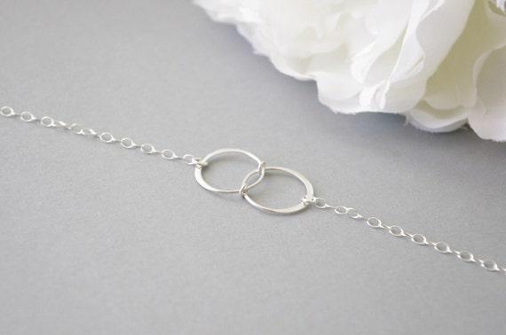 sterling silver infinity bracelet eternity by