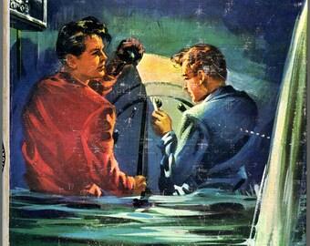 1960 Rick Brant: Sea Gold Adventure Book