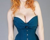Magnolia Overbust Corset, Tightlacing - YOUR SIZE and COLOR